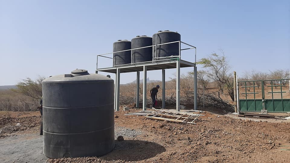 MAA delivers water supply works to the farm in Cape Verde